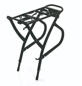 "Product image for XLC Alu-Carrier Pannier Rack 26-28"" with Spring Clip (RP-R01)"