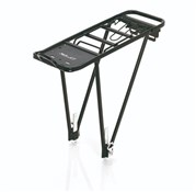 "Product image for XLC Alu Carrier Pannier Rack 26-28"" with Spring Clip (RP-R02)"