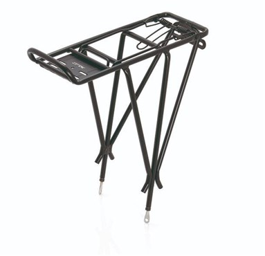 "XLC Alu Carrier Pannier Rack 26-28"" with Spring Clip (RP-R04)"