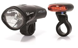 Product image for XLC Krypton 10 Lux Lightset (CLS01)