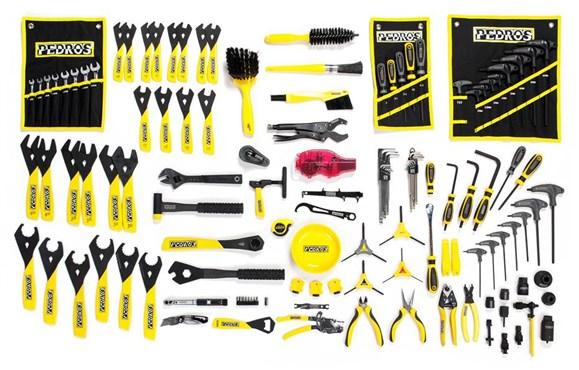 pedros master bench tool kit   tredz bikes