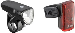 AXA Bike Security Greenline 35 Lux Light Set