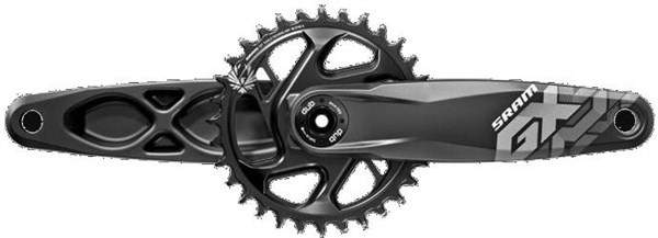 SRAM GX Eagle Dub Boost 148 12 Speed Direct Mount Crank Set (Dub Cups/Bearings Not Included)