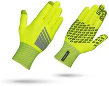 Product image for GripGrab Primavera Hi-Viz Winter Long Finger Cycling Gloves