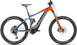 "Product image for Cube Stereo Hybrid 160 Action Team 500 27.5"" 2019 - Electric Mountain Bike"