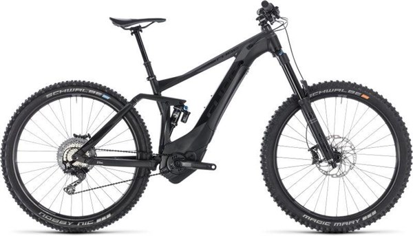 "Cube Stereo Hybrid 160 SL 500 27.5"" 2019 - Electric Mountain Bike"