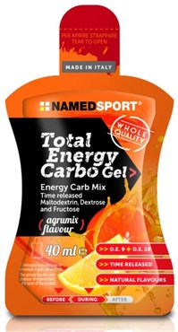 Named Sport Nutrition Total Energy Carbo Gel Agrumix - 40ml Box of 24