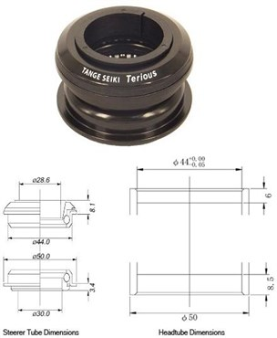 Tange Seiki Terious ZST2 Semi Integrated Headset