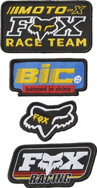 Fox Clothing Patch Pack