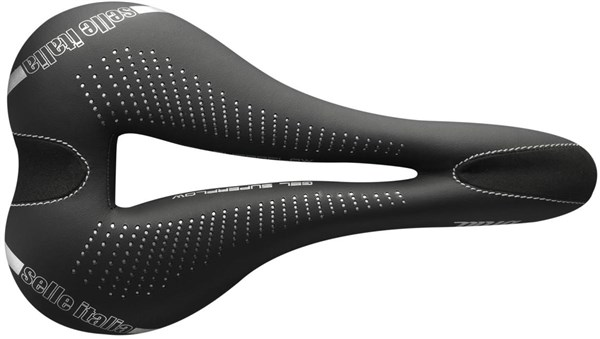 Selle Italia Diva Gel TI316 Superflow Womens Saddle