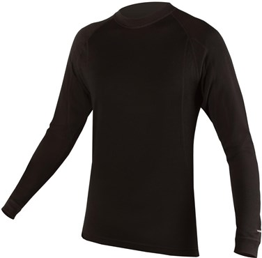 Image of Endura BaaBaa Merino Long Sleeve Cycling Base Layer SS17
