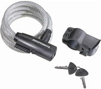Kryptonite Keeper Value Key Cable Lock With Bracket