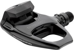 Shimano R540 SPD-SL Road Bike Pedals Silver Front