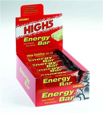 High5 Energy Bar Box of 25