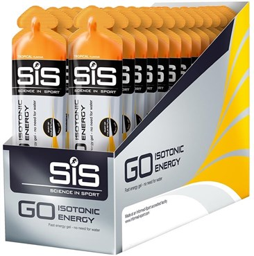 SiS Go Isotonic Energy Gel 60ml Tube - Box Of 30