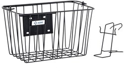 Adie Large Front Basket with Holder