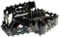 Product image for Gusset Prosecutor Magnesium Trials Semi-Platform Pedals