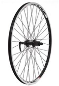 Zac2000 Alloy Black Rim Built on Shimano 8/9spd Q/R Cassette Hub