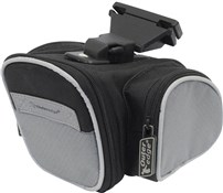 Triple Pocket Saddle Bag with Q/R Fitting
