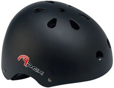 BMX Helmet - Matt Black