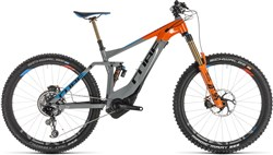 "Product image for Cube Stereo Hybrid 160 Action T. 500 Kiox 27.5"" 2019 - Electric Mountain Bike"