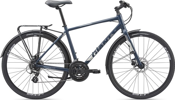 Giant Escape 2 City Disc 2019 - Hybrid Sports Bike
