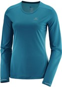 Product image for Salomon Agile Long Sleeve Womens Running Tee
