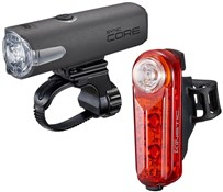 Product image for Cateye Sync Set Core & Kinetic Front & Rear Light Set