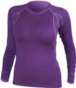 Endura BaaBaa Merino Womens Long Sleeve Cycling Base Layer AW17
