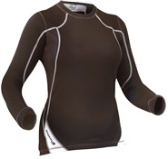Transmission Womens Long Sleeve Cycling Base Layer