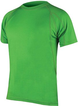 Image of Endura BaaBaa Merino Short Sleeve Cycling Baselayer AW16