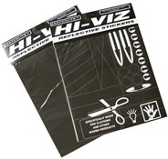 Hi-viz Pressure Sensitive Sticker Material