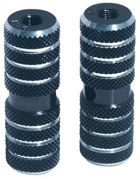 DiamondBack Knurled Pegs