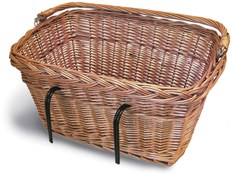 Wicker Rectangular Hook-On Front Basket