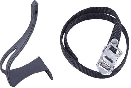 Image of ETC Road Toeclips inc Straps