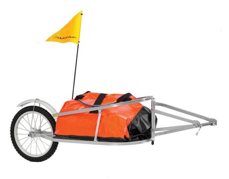Image of Adventure CT1 Folding Cargo Trailer