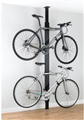 Product image for Gear Up BUA Aluminium Floor-to-Ceiling 2 To 4-bike Rack
