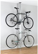 Gear Up BUA Aluminium Floor-to-Ceiling 2 To 4-bike Rack