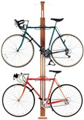 Product image for Gear Up OakRak Floor-To-Ceiling 2 To 4-Bike Rack