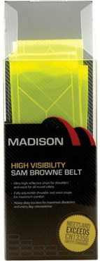 Madison Sam Browne Reflective Belt