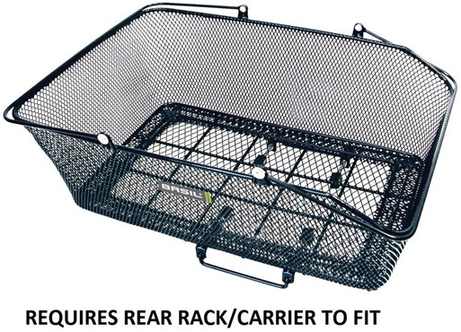 Basil California XLarge Rear Basket With Basco Mount