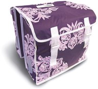 Blossom Flower Print Double Pannier Bag