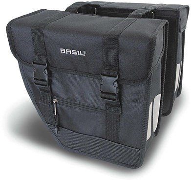 Basil Tour Rear Briefcase Heavy Duty Double Pannier Bag