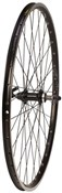 Product image for Tru-Build Rear Wheel 700c Mach1 240 Rim, Black, Screw-On QR Hub