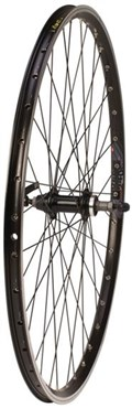 Tru-Build Rear Wheel 700c Mach1 240 Rim, Black, Screw-On QR Hub