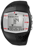 FT40 Womens Heart Rate Monitor Computer Watch