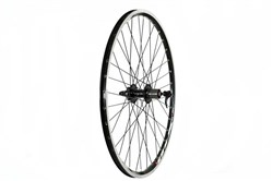 Tru-Build Mach 1 MX Rim Black, 8/9 Speed Cassette Q/R Axle Rear Disc Wheel