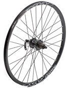 Product image for Tru-Build Shimano Deore Disc Black Q/R Hub Built Onto Mach 1 MX Disc Rim Front Wheel