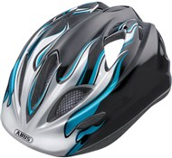 Abus Super Chilly Kids Cycling Helmet With Rear Mounted LED Light