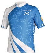 Endura CoolMax Printed Scotland Short Sleeve Cycling Jersey SS16